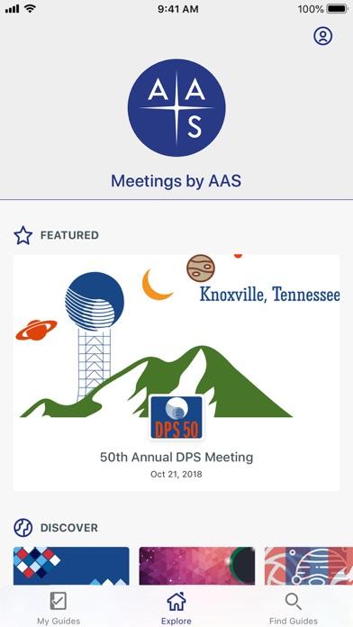 Meetings by AAS-1
