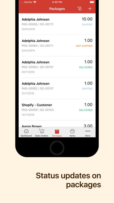 Inventory app - Zoho screenshot four
