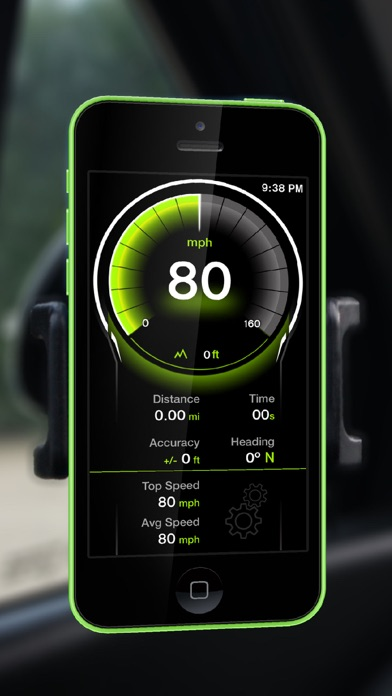 Screenshot for GPS Digital Speed Tracker Pro in Saudi Arabia App Store