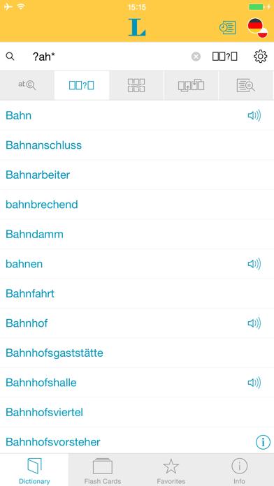 German Polish Dictionary screenshot four