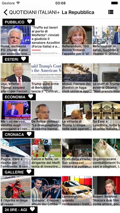 Giornali Italiani - Notizie