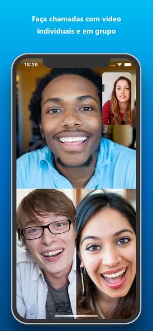 Skype para iPhone Screenshot