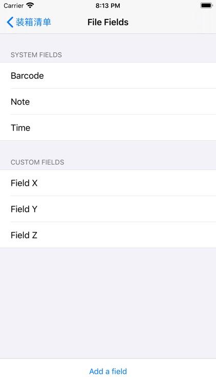 BarcodeTable - Barcode Scanner screenshot-4