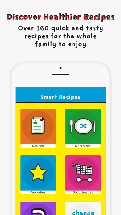 Change4Life Smart Recipes screenshot two