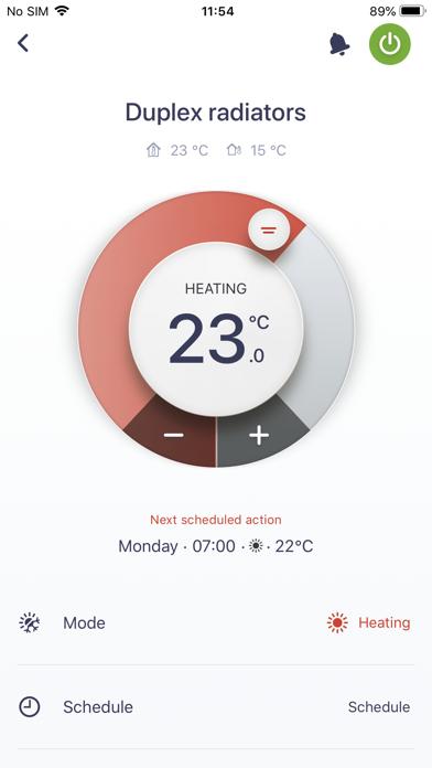 Daikin Residential Controllerلقطة شاشة2