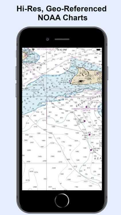 NOAA Nautical Charts & Map
