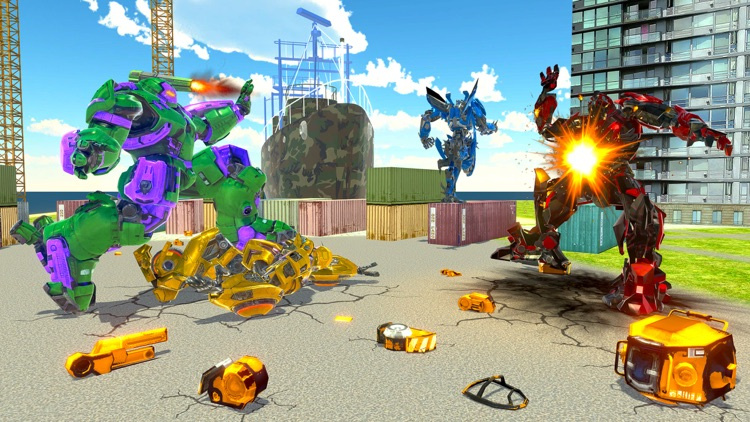 Incredible Monster Robot War screenshot-0
