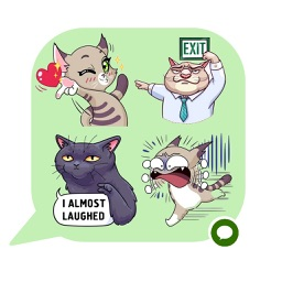 Cats Emoji Stickers