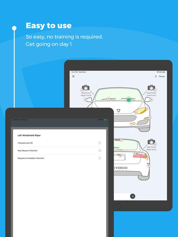 Driveroo Inspector screenshot
