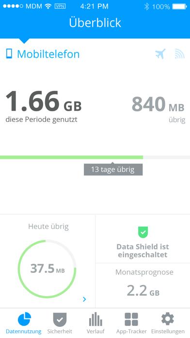 My Data Manager VPN SicherheitScreenshot von 1