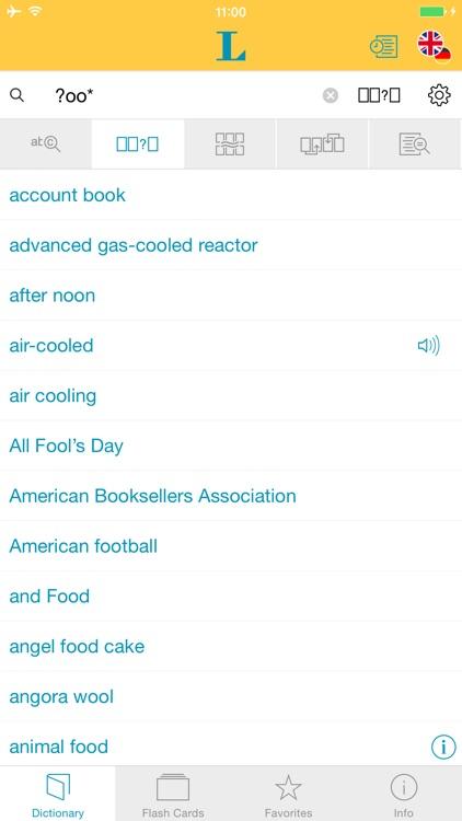 German English XXL Dictionary screenshot-3