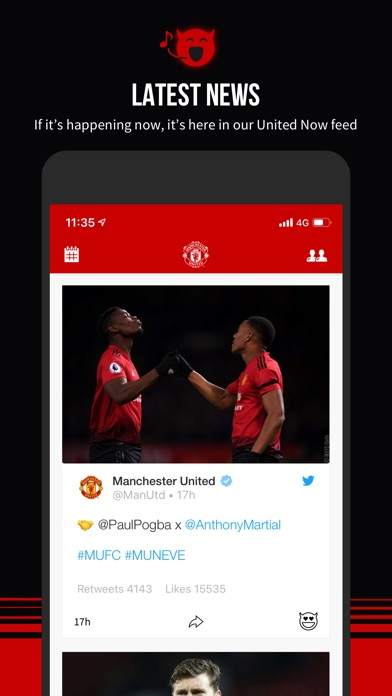 Manchester United Official App-5