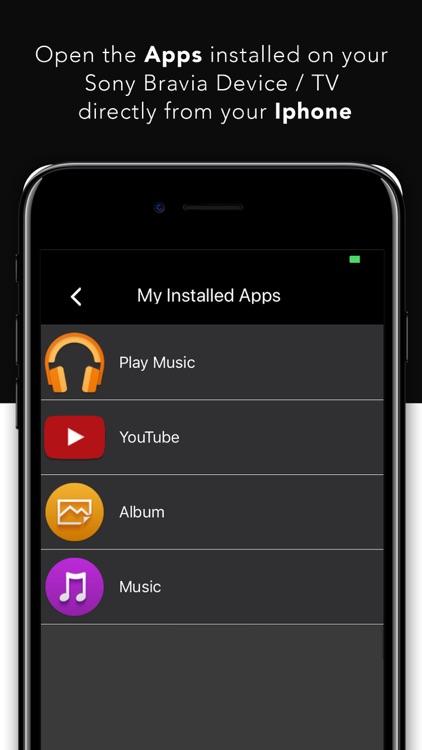 Remote For Sony TV - Bravia screenshot-3