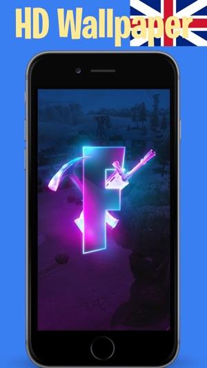 iphone screenshots - fortnite logo wallpaper