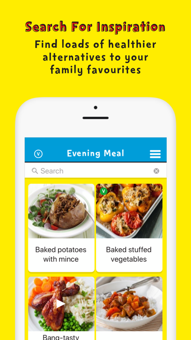 Change4Life Smart Recipes screenshot three