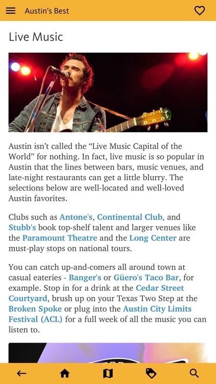 Austin's Best: TX Travel Guide screenshot-7