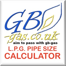 GB GAS L.P.G. PIPE SIZING APP