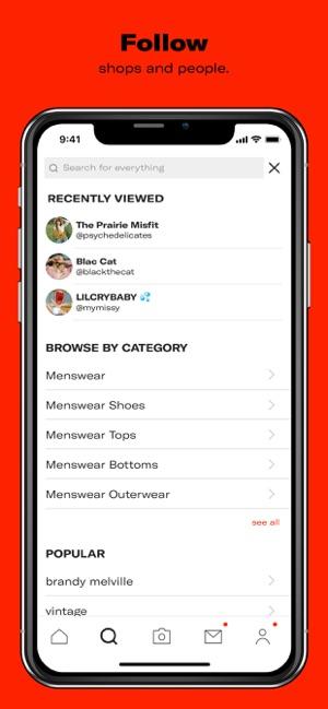 9683599f6 Depop - Shop. Unique. Fashion on the App Store