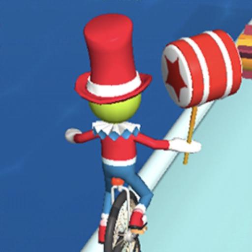 Clown on the Wheel