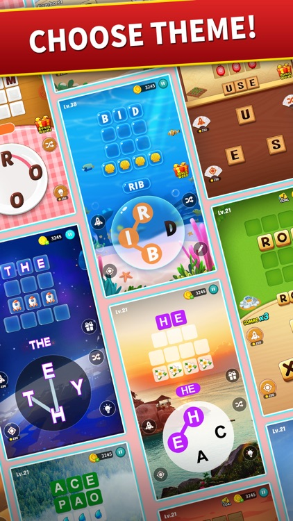 Word Harvest: Word Games