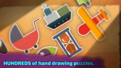 Screenshot for Chigiri: Paper Puzzle in Denmark App Store