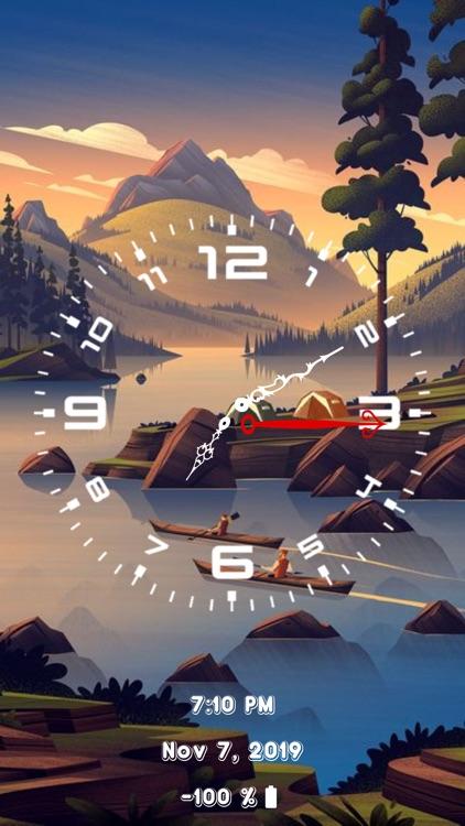 Analog Clock - Face Clock Time screenshot-8