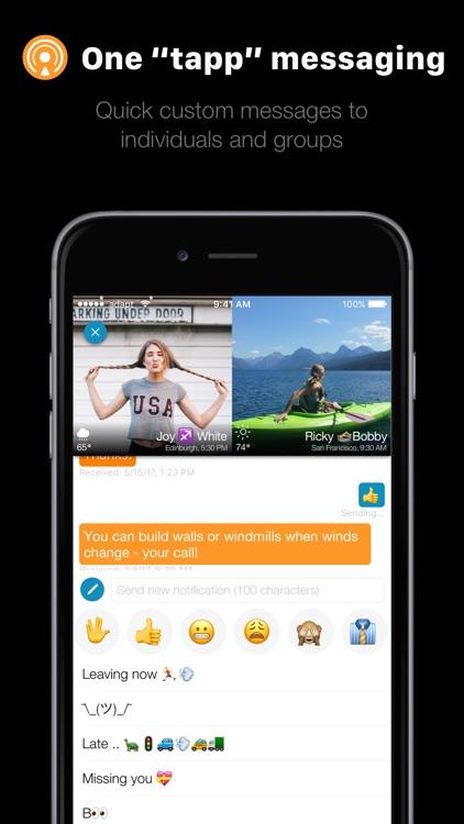 addappt: Live Contacts+Weather screenshot-4