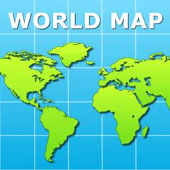 World Map Pro for iPad