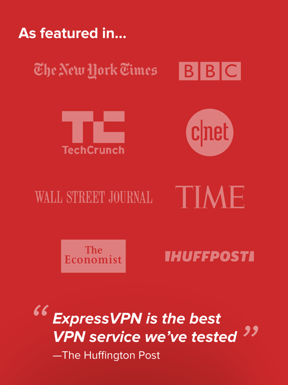 iPad Image of ExpressVPN - #1 Trusted VPN