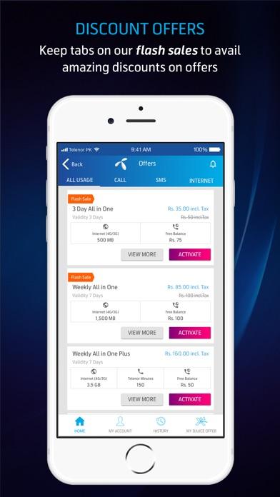 Screenshot for My Telenor in Pakistan App Store
