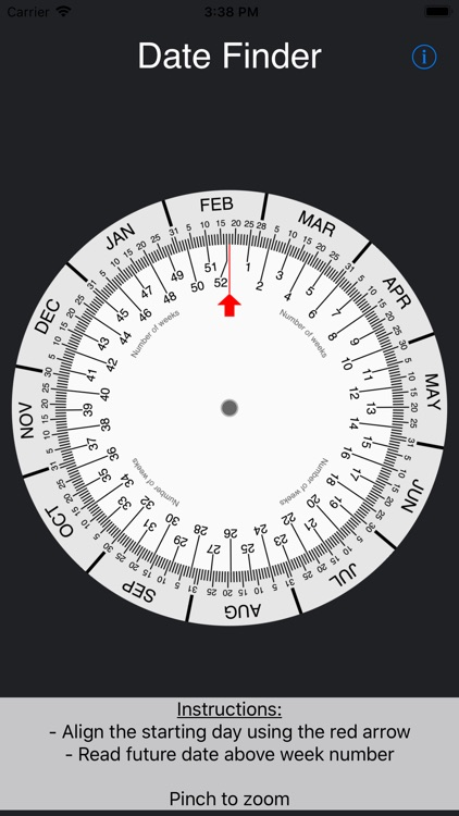 Simple Date Wheel