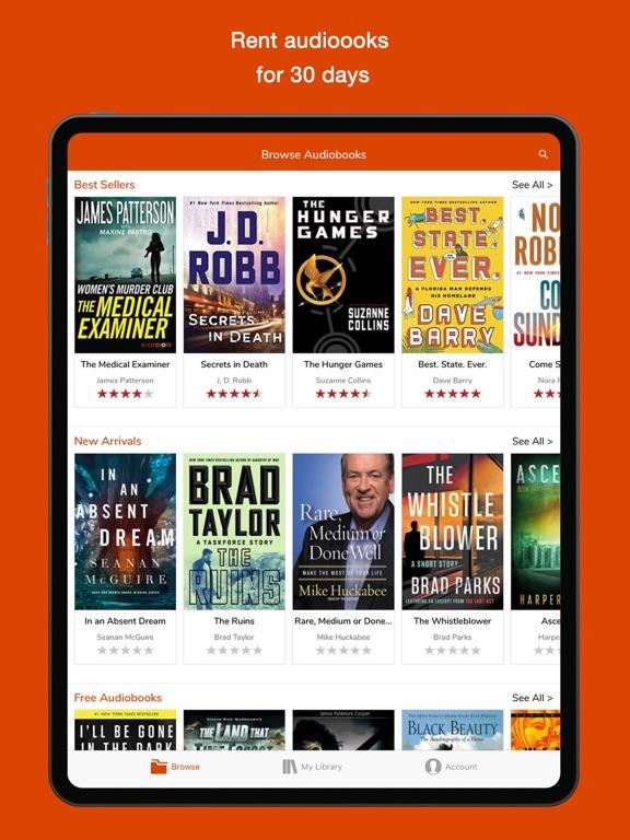 Audiobook Lender Audio Books | App Price Drops