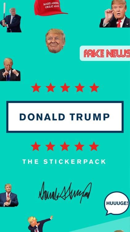Trump Stickers and Trumpmoji