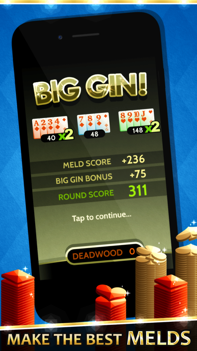 Gin Solitaire screenshot three