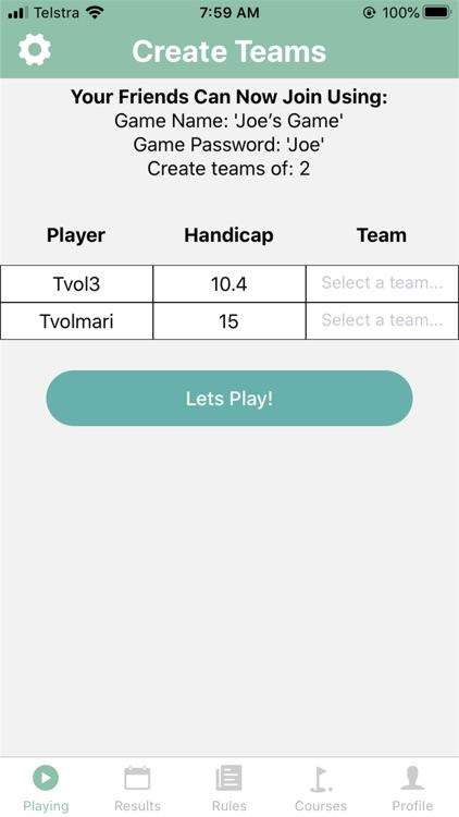 Golf-A-Round With Friends screenshot-4