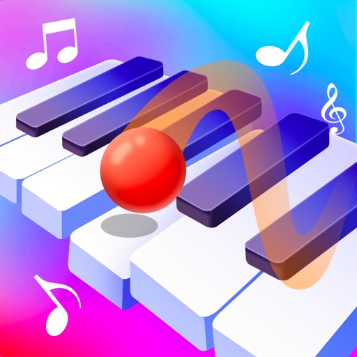 Color Piano Ball: Jump and Hit app for ipad