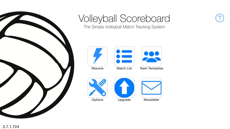 A Volleyball Scoreboard