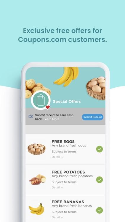 Coupons.com: Cash Back Savings screenshot-3