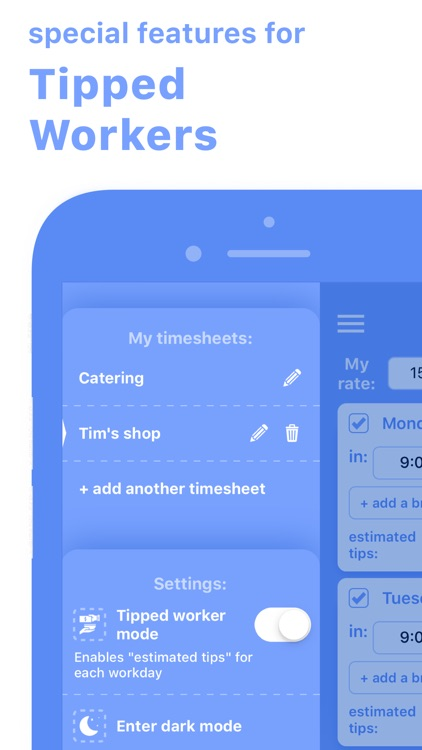 Work Hours & Pay Calculator screenshot-5