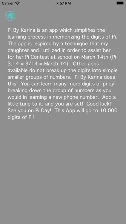 Learn Pi By Karina screenshot-3