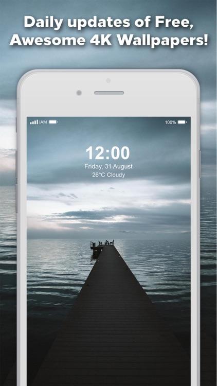 Wallpapers for iPhone 4K & HD screenshot-4