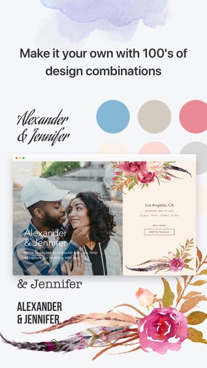 Joy - Wedding App & Website screenshot-4