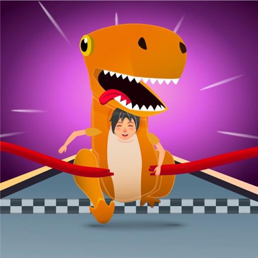 Funny Dino Race