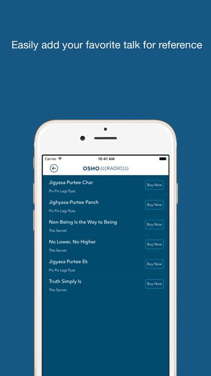 Osho Radio screenshot-3