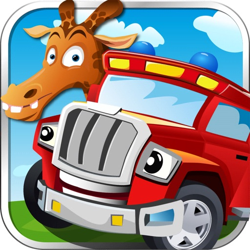 Car Game For Kids & Toddler iOS App