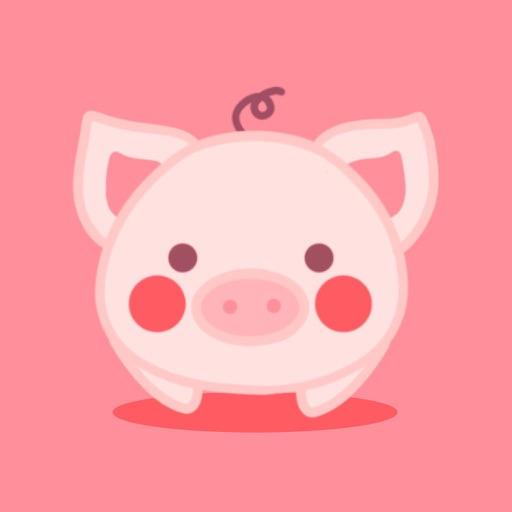 PinkPiggy - sticker