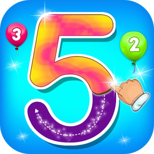 123 Counting & Tracing Numbers icon