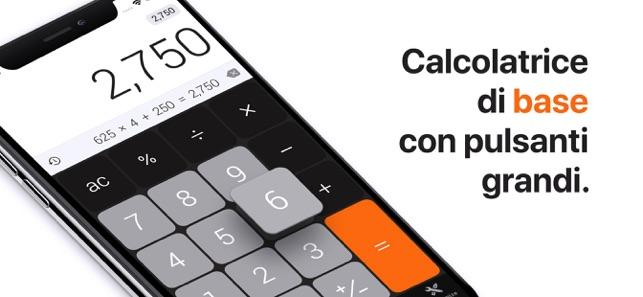 calcolatrice gratis per ipad