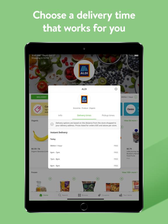 Instacart: Grocery deliveries