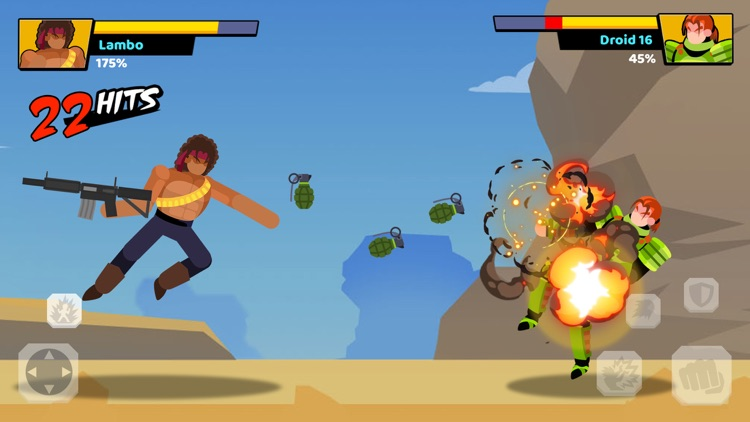 Stick Heroes: Fighting Battle screenshot-4